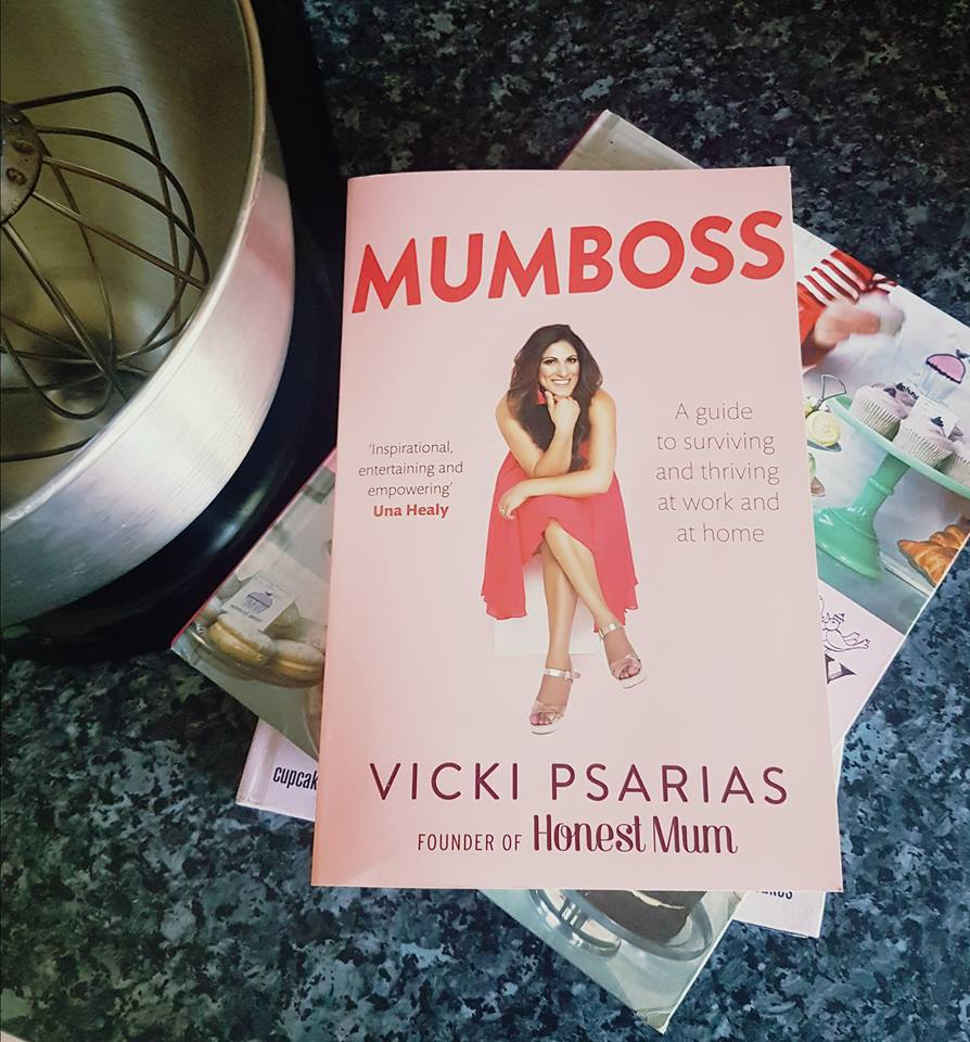 Win a signed paperback copy of Mumboss by Vicki Psarias